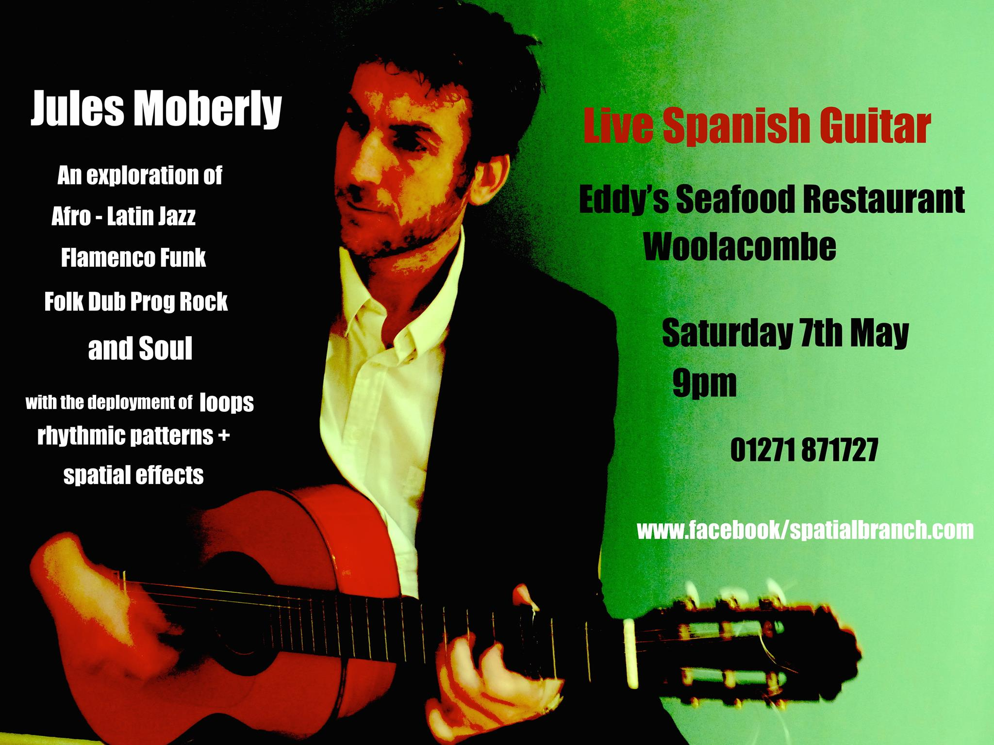 Tapas and Music with Jules Moberly